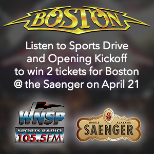 BOSTON LIVE at the Saenger Theatre