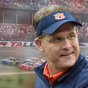 Auburn Football Coach Returns to Talladega Speedway