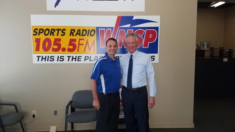 Tommy Tuberville covers numerous topics while spending an hour in the WNSP studios!