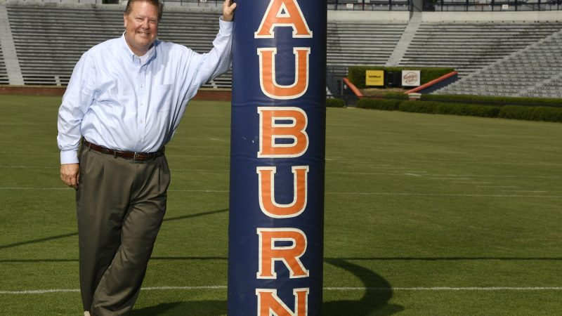 WNSP interview with new voice of the Auburn Tigers, Andy Burcham!