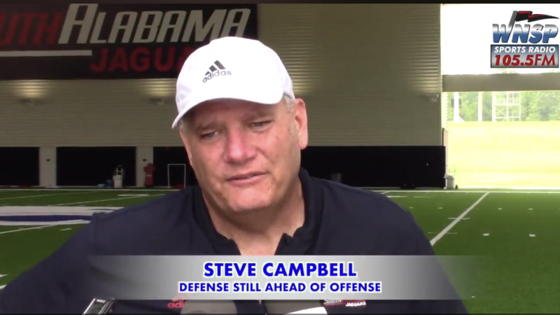 VIDEO Campbell – Jaguars Defense Still Ahead of Offense