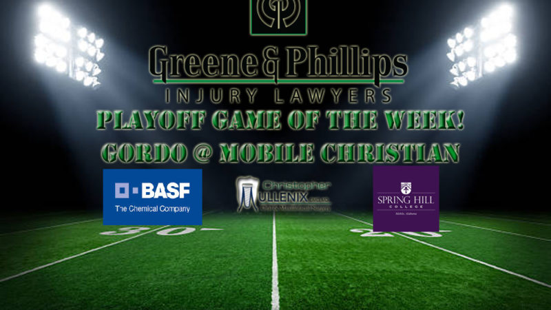 TUNE IN this Friday night for the Greene and Phillips Playoff Game of the Week!