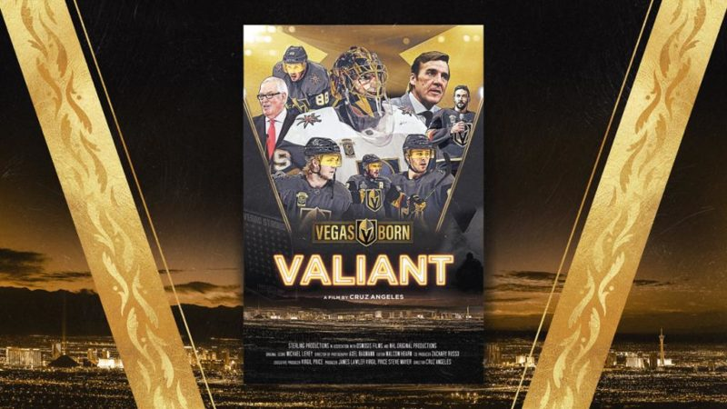 The 2018 Las Vegas Golden Nights' run to the Stanley Cup final was surrounded by tragedy and triumph. Soon there will be a powerful documentary telling their story. Details here!