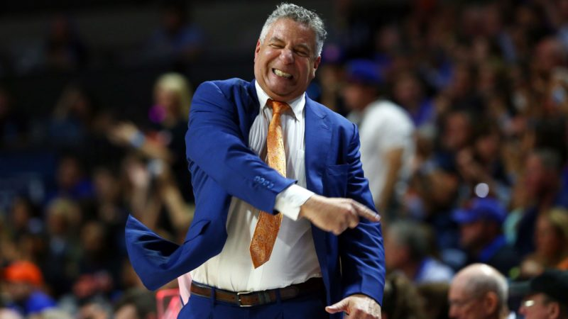 What does Bruce Pearl do to contain himself during quarantine? That and much more right here!