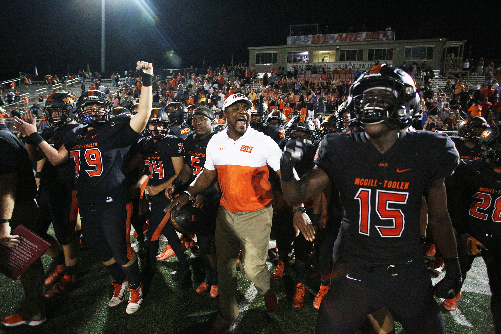 Week 9 local high school football scores and postgame interviews with winning coaches!