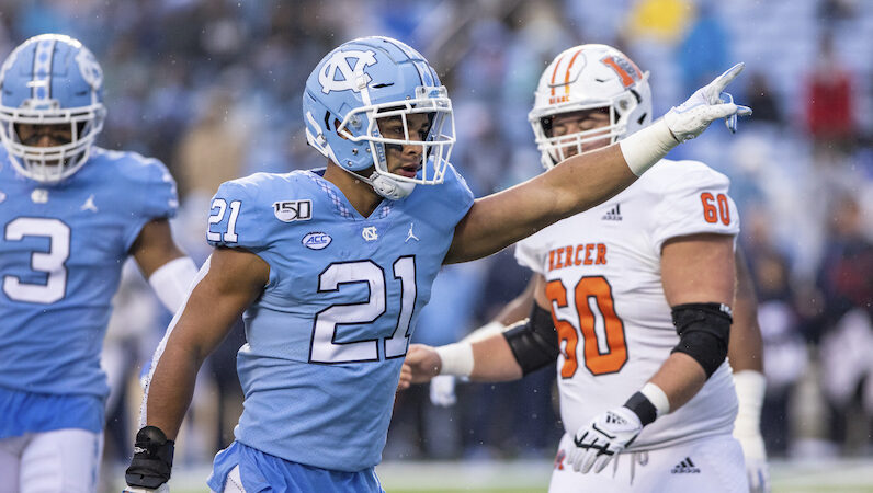 LISTEN: UNC's Chazz Surratt breaks down the pre-draft process and his time at the Reese's Senior Bowl!
