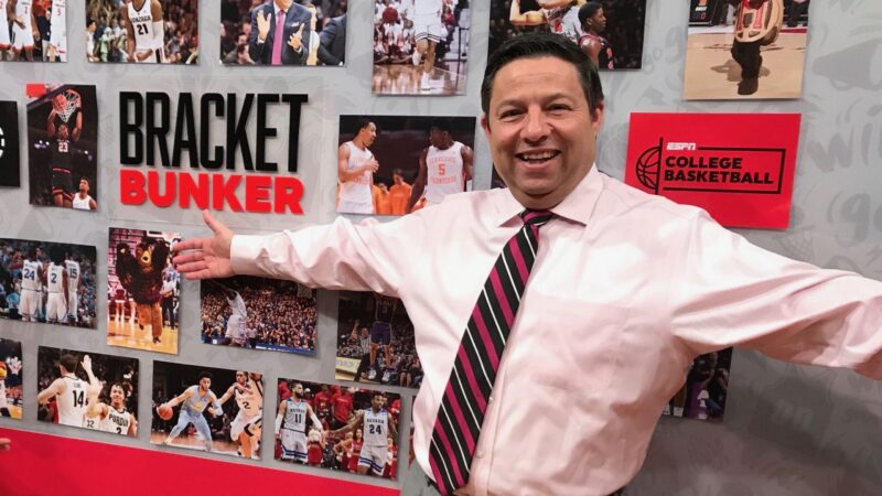 LISTEN: Joe Lunardi talks about his new Bracketology book and previews the NCAA Tournament!