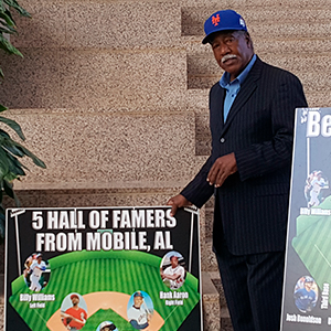 Jones unveils collages dedicated to Mobile sports history