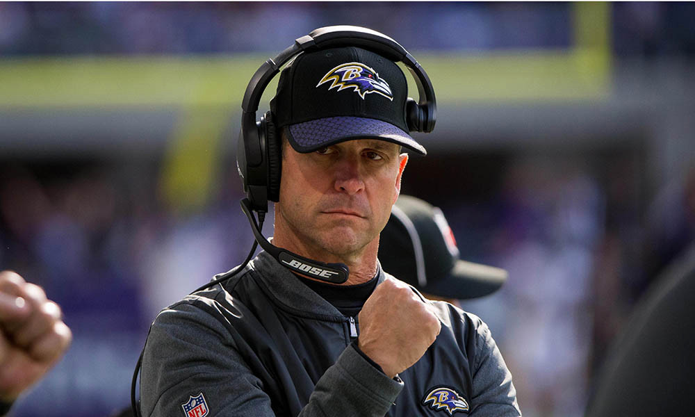 WNSP interview with John Harbaugh!
