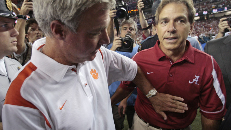 Tommy Bowden, former Clemson head coach joined Mark and Lee to reminisce and talk about today's football world!