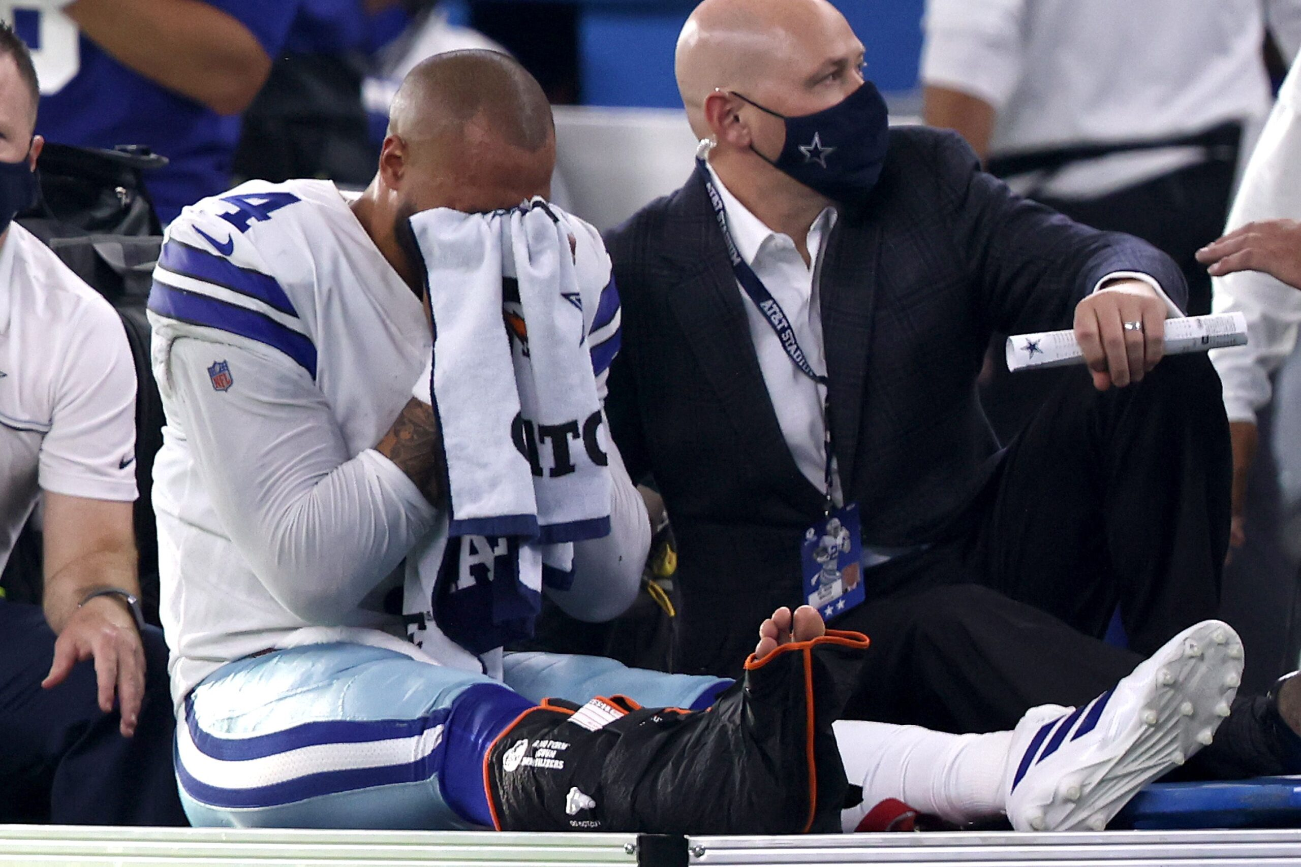LISTEN: USA Health's Dr. Mark Perry goes in depth on Dak Prescott's gruesome ankle injury suffered on Sunday Night Football