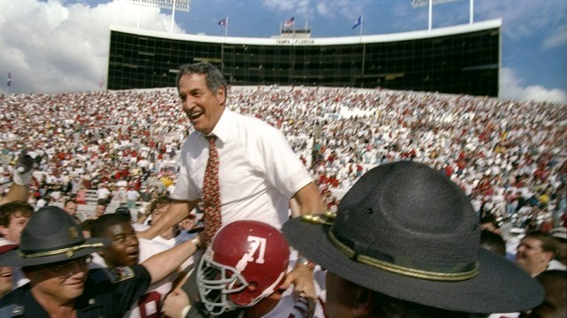 LISTEN: Bear Bryant or Nick Saban? Gene Stallings shares his views on the G.O.A.T discussion!