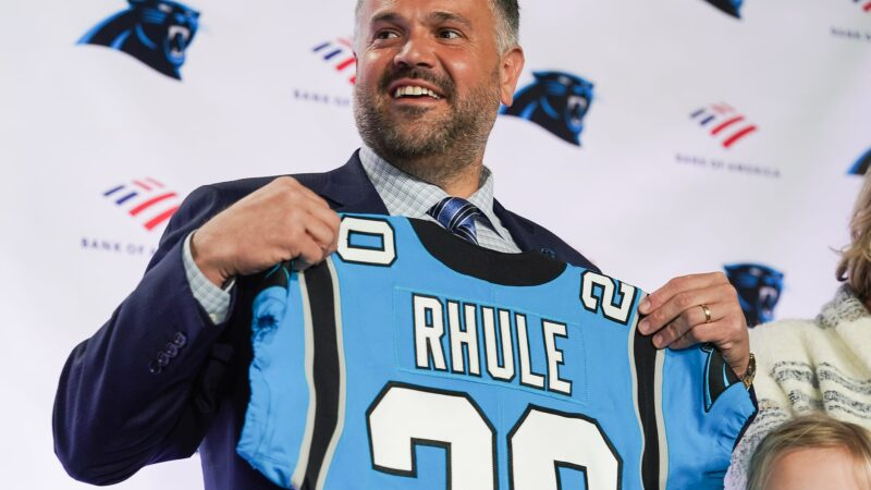 LISTEN: Carolina Panthers head coach Matt Rhule discusses coaching in the Senior Bowl!