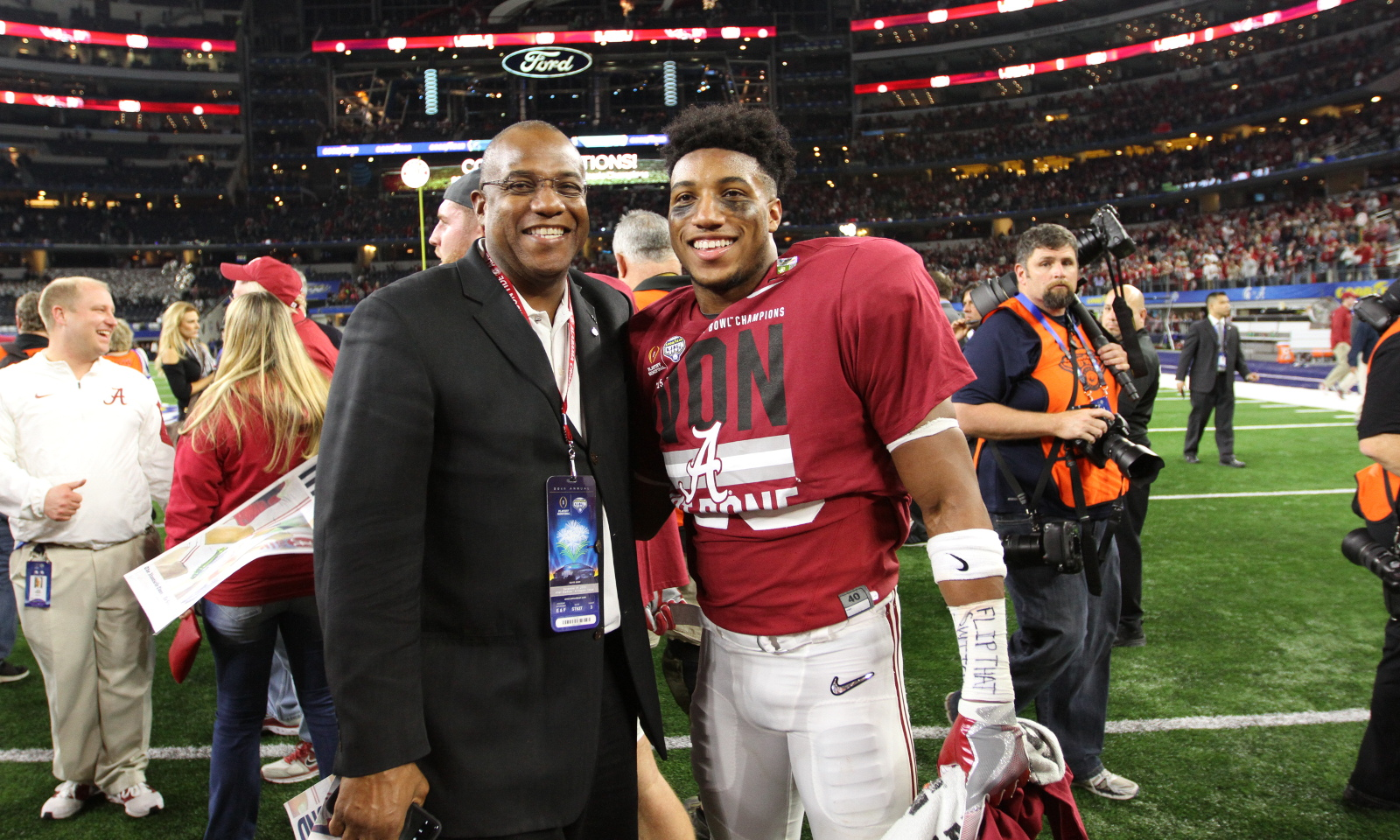 LISTEN: Two segments with the former Crimson Tide great Bobby Humphrey!