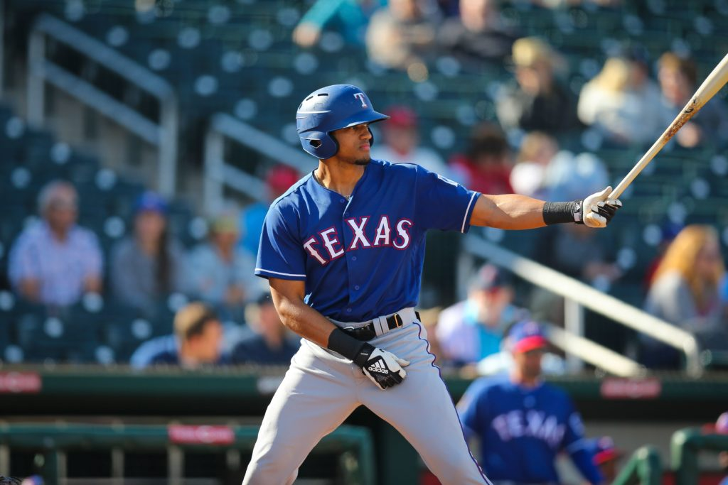 LISTEN: Bubba Thompson, former McGill-Toolen star, discusses how he's getting ready for baseball season in the Rangers organization!